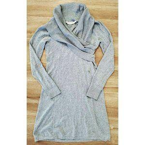 Athleta Womens Sochi Gray Sweater Dress Size Small